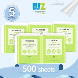 Carina Facial Cotton Pure Cotton (100sheets x 5packs)