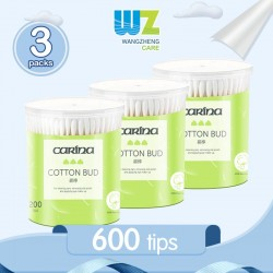 Carina Pure Cotton Cotton Bud (200tips x 3packs)