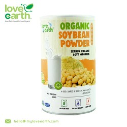 Love Earth Organic Soybean Powder 500g