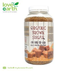 Love Earth Organic Brown Sugar 800g