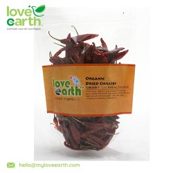 Love Earth Organic Dried Red Chili 80g