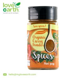 Love Earth Organic Curry powder 50g