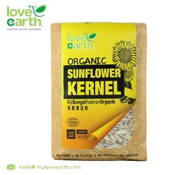 Love Earth Organic Sunflower Kernel 400g