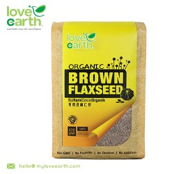 Love Earth Organic Brown Flaxseed 420g