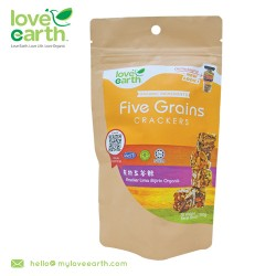Love Earth Organic 5 Grain Cracker 100g