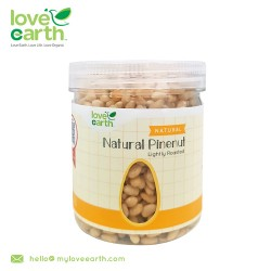 Love Earth Light Roasted Natural Pinenut 180g