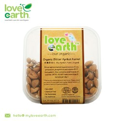 Love Earth Organic Bitter Apricot Kernel 120g