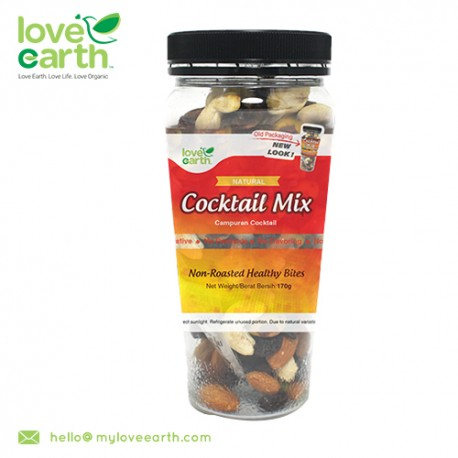 Love Earth Natural Cocktail Mixed 170g