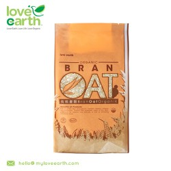 Love Earth Organic Oat Bran 400g