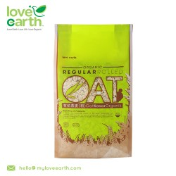 Love Earth Organic Regular Rolled Oat 400g