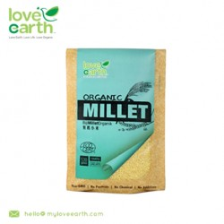 Love Earth Organic Hulled Millet 530g