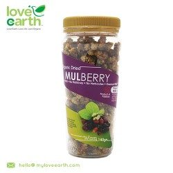 Love Earth Organic Dried Mulberry 140g