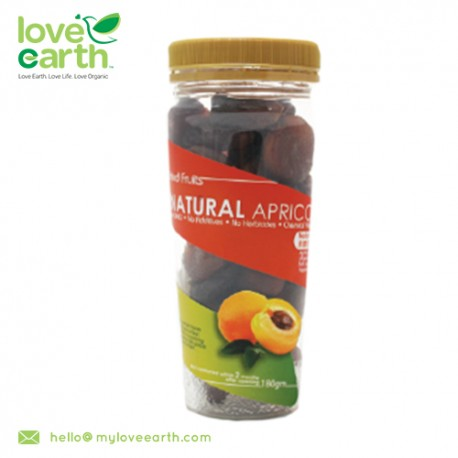 Love Earth Natural Dried Apricot 180g