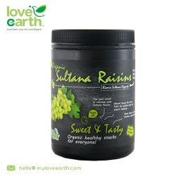 Love Earth Organic Sultana 450g
