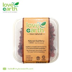 Love Earth Natural Goji Berry 120g
