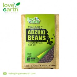 Love Earth Organic Adzuki Bean 550g