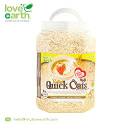 Love Earth Organic Quick Rolled Oat 1.2kg