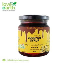 Love Earth Organic Coconut Syrup 270g