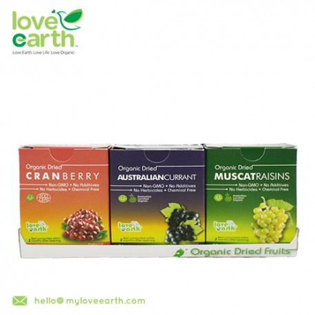Love Earth Mixed Dried Fruit 6 in 1