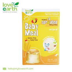 Love Earth Organic Baby Meal Original (6 Sachet 120g)