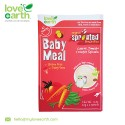 Love Earth Organic Baby Meal Carrot, Tomato & Water Spinach (6 Sachet 120g)