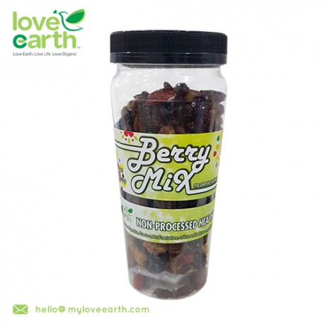 Love Earth Natural Berry Mixed 170g