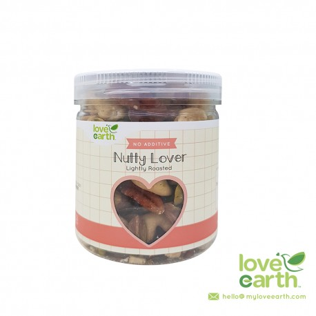 Love Earth Light Roasted Nutty Lover 140g