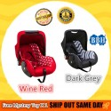 BBH Functional Baby Carrier with Carrier / Carseat / Rocker / Free Mystery Toys (Grey)