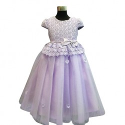 Wonder Tots - Party Dress 4-12y (Purple)