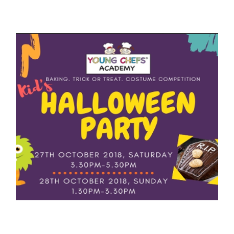 Kid's Halloween Party (Young Chefs Academy)