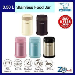 Zojirushi 500ml S/S Food Jar - SW-EAE-50