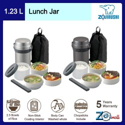 Zojirushi 1.23L S/S Lunch Jar - SL-JAF-14