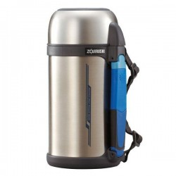 Zojirushi 1.3L S/S Bottle With Cup - SF-CC-13-XA (Stainless)