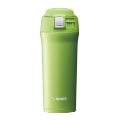 Zojirushi 480ml S/S One Touch-Open Mug SM-YAF-48-GA (Lime Green)
