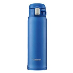 ZOJIRUSHI 480ML S/S ONE-TOUCH MUG - SM-SD-48-AM (MATTE BLUE)